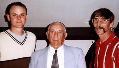 Jamie Montera a third generation graduate shown here with his grandfather Ralph Montera and father Charlie Montera.